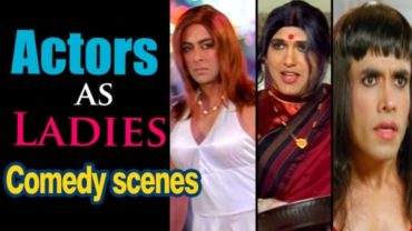 Bollywood Actors Cross-Dressed Scenes