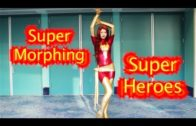 Super Heroes Morphing at WonderCon 2012