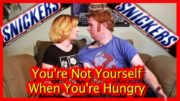 The Best Snickers Commercial Parody (Part 1) EVER! You're not yourself when you're Hungry!