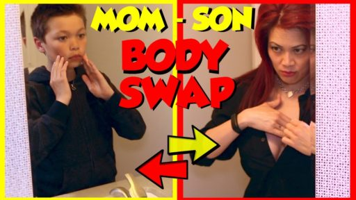 Body Swap (Mother and Son).  Episode 1:  The Virtual Reality Body Swap!