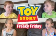 Freaky Friday! Toy Story 4 Funny | Woody & Buzz Lightyear | Kids Wild Ride