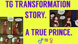 Young Prince – Tg Transformation Story (mtf animation)