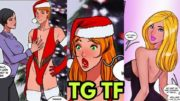 Best Christmas Gift  – Tg Transformation Story   tg tf   Kannel   Male to Female Transformation.