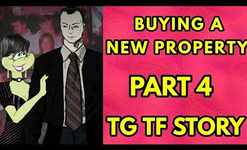 Buying a New Property Part 4 – Tg Transformation Story   Tg Tf   Male to Female   Forced Fem Comic.