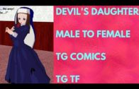 Devil's Daughter – Tg Transformation Story | Tg Comics | Male to Female Transformation | Tg Tf.
