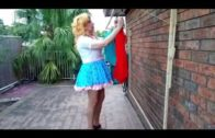 Tough man Diesel gets turned into a pretty girl.  Comedy – crossdresser