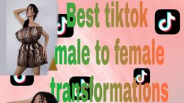 Tiktok best male to female transformations